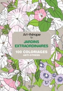 Cahier coloriage Jardins-Midetplus