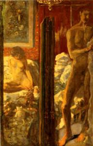 Pierre BonnardL'homme et la femme© ADAGP, Paris © Musée d'Orsay, dist. RMN-Grand Palais / Patrice Schmidt