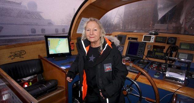 Agnès-b.-aboard-Tara-superyacht-Photo-Credit-V.-HilaireTara-Expeditions