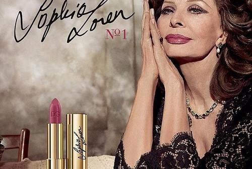 Sophia Loren-@Dolce et Gabbana