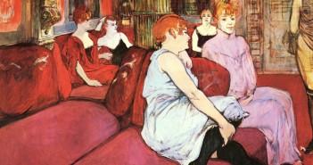 Au salon de la rue des Moilins-Toulouse Lautrec