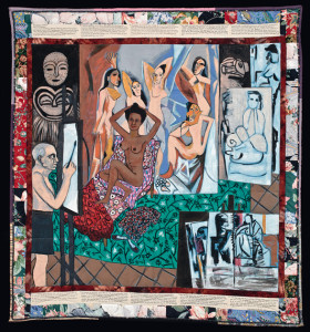 Faith Ringgold 'Atelier de Picasso (de la série La Collection française partie 1, # 7), 1991. © Faith Ringgold © 1991 photo Worcester Art Museum
