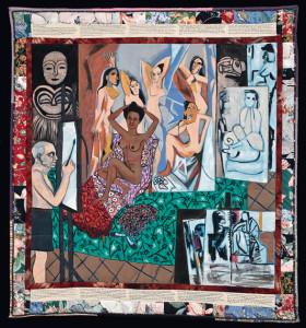 Faith Ringgold 'Atelier de Picasso (de la série La Collection française partie 1, # 7), 1991. © Faith Ringgold © 1991 photo Worcester Art Museum