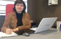 Martine Laruaz, une femme béton