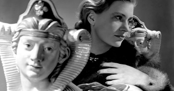 Self Portrait with sphinxes, Vogue Studio, London, England 1940 by Lee Miller © Lee Miller Archives, England 2015. All rights reserved