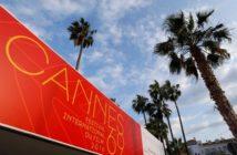 Avec des palmes à Cannes