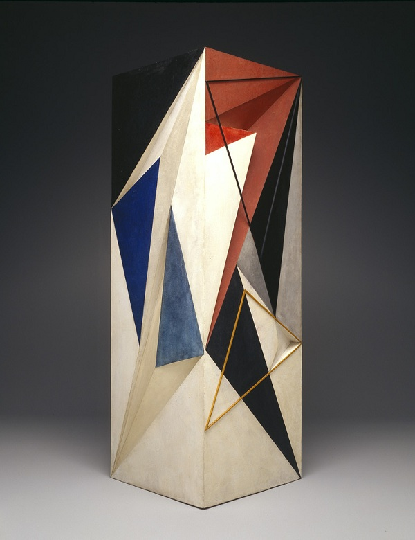 Amma dite Anton PRINNER (1902-1983), Grande colonne, 1933, bois peint, Dallas, TX, Dallas Museum of Art copyright artiste : Monique Tanazacq, Paris crédits photo : Brad Flowers/image courtesy Dallas Museum of Art