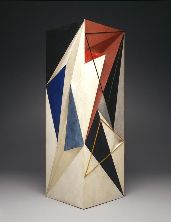 Amma dite Anton PRINNER (1902-1983), Grande colonne, 1933, bois peint, Dallas, TX, Dallas Museum of Art copyright artiste : Monique Tanazacq, Paris crédits photo : Brad Flowers/image courtesy Dallas Museum of Art