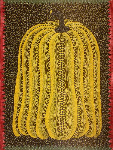 Yayoi Kusama, Pumpkin, 1981 © Yayoi Kusama. Courtesy Ota Fine Arts, Tokyo/Singapore, Victoria Miro Gallery, London, David Zwirner, New York