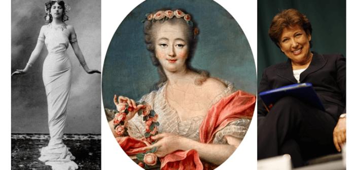 Des femmes libres : Mata Hari, Madame du Barry, Roselyne Bachelot
