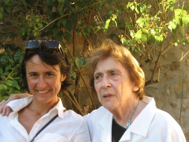 M.-H. Fabra-Bratianu et sa mère (2008)