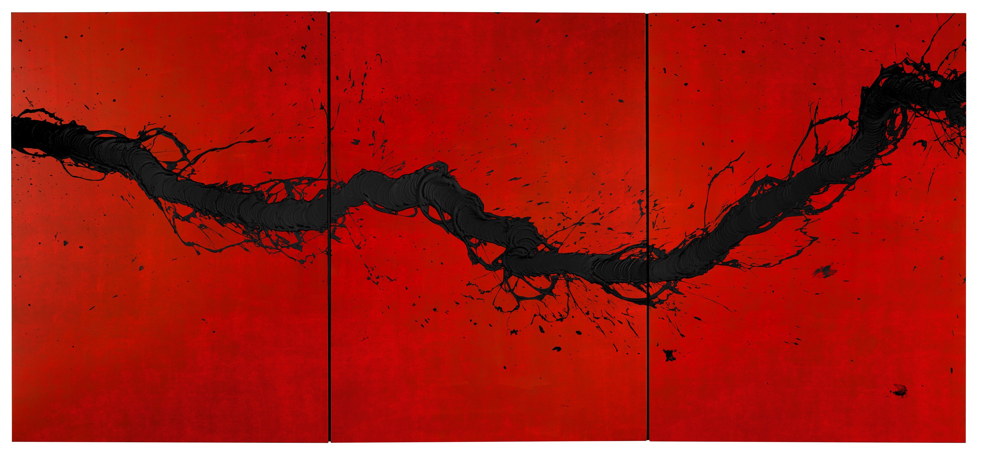 fabienne-verdier-mutation-2016-acrylic-and-mixed-media-on-canvas-183-x-407-cm-courtesy-waddington-custot