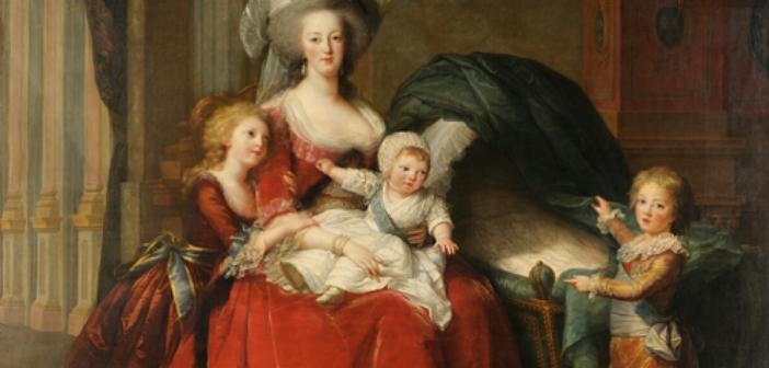 ©Vigée Lebrun-Marie Antoinette et ses enfants