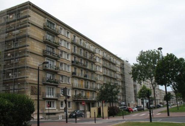 Avenue Foch, les immeubles Perret en cours de restauration