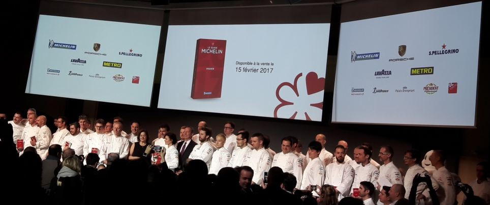 guide Michelin 2017 © photo E.Mismes