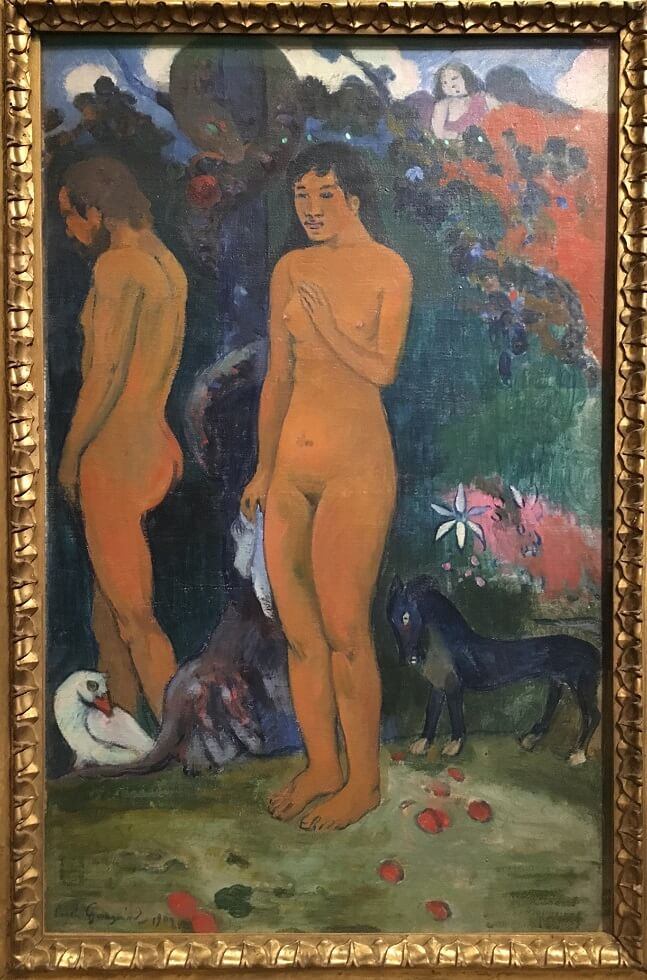 ©Adam et Eve de Gauguin - 1902 - Collection Hansen - Mid&Plus