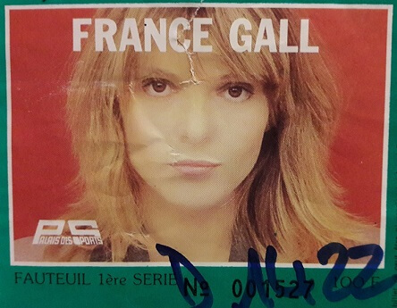©France Gall Zenith 1984 - Mid&Plus