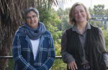 Sylvie Ligny et Cécile Christophe, un jardin partagé