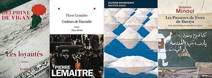 ©rentrée littéraire 2018 - Mid&Plus