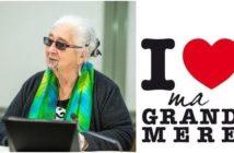 Grand-mère activiste