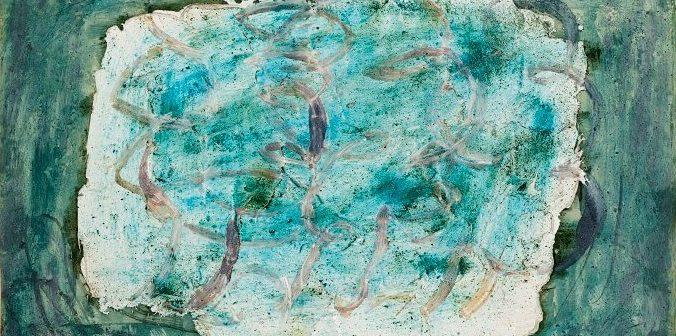 ©Jean FAUTRIER, Forêt (Les Marronniers), 1943 Huile sur papier marouflé sur toile, 54 x 65 cm Don de l'artiste en 1964 Musée d'Art moderne de la Ville de Paris Crédit photographique : Eric Emo/Parisienne de Photographie © Adagp, Paris, 2017