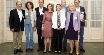 Henri Perilhou, Emmanuelle Bastide, Juan Gomez, Marie Eloy, Murielle Pringez, Olivier Fleurot, Eliane Rouyer Chevalier, Orso Chetochine