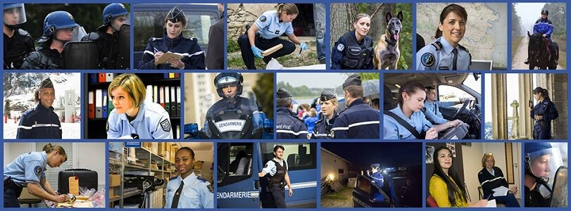 ©Les femmes en gendarmerie - Mid&Plus