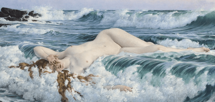 ©Adolf Hirémy-Hirschl Aphrodite vers 1893 Galerie Tibermont Paris