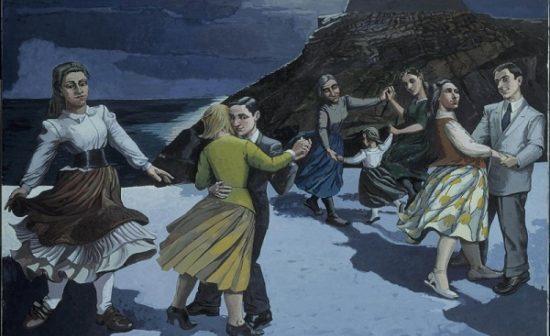 Paula Rego, The Dance [La Danse], 1988 Acrylique sur papier monté sur toile - 212,6 x 274 cm © Collection privée / Bridgeman Images