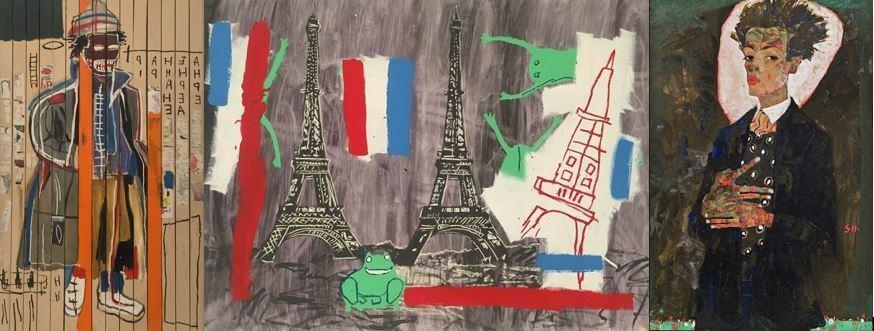 ©Basquiat & Schiele - Mid&Plus