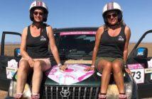 Christine & Cathy, challenge & poussière