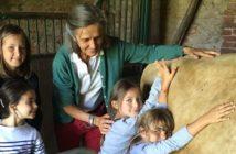 Véronique Barrois offre la clé des champs aux enfants