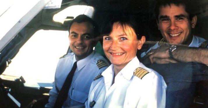 Brigitte Revellin-Falcoz, pilote de mère en fille