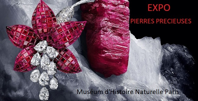 ©Expo Pierres précieuses muséum d'histoire naturelle