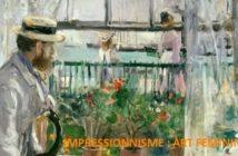 L'impressionnisme, art féminin ?
