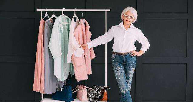 Le beau vieillir par la mode