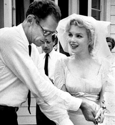 ©Wikipedia - Arthur Miller & Marilyn Monroe