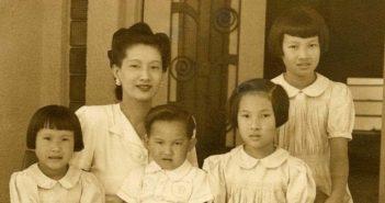 ©Flickr - AP0761-Sogny-Marien - DALAT 1947 – L'impératrice Nam Phuong et ses enfants - Nam Phương Hoàng hậu với các con tại Dalat năm 1947