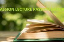 Passion lecture, passion nature