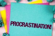 P comme procrastination ou productivité ?