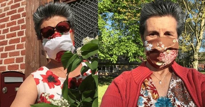Souriantes et élégantes… même masquées !