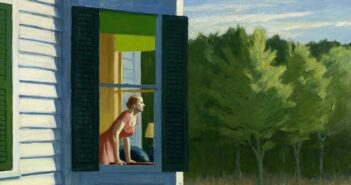 Edward Hopper, Cape Cod Morning (détail), 1950, huile sur toile, 86,7 x 102,3 cm, Smithsonian American Art Museum © Heirs of Josephine Hopper / 2019, ProLitteris, Zurich Photo ©Smithsonian American Art Museum, Gene Young / Edward Hopper