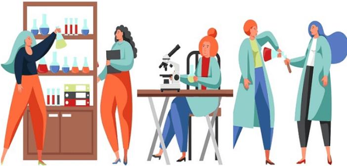 ©Adobe Stock 286372753 -Femmes et science