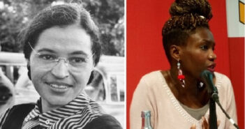 Rosa Parks ©Wikimedia Commons- National Archives and Records Administration Records of the U.S. Information Agency Record Group 306 Rokhaya Diallo-Wikipedia-©Europa 21-Gwyndon