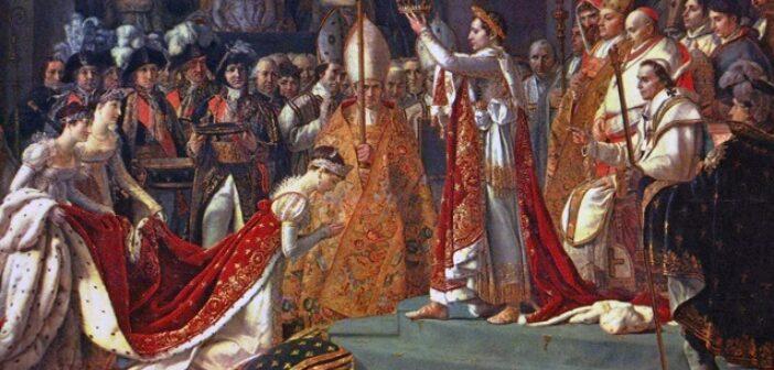 ©Wikipedia - Le sacre de Napoléon de Jacques-Louis David - Musée du Louvre