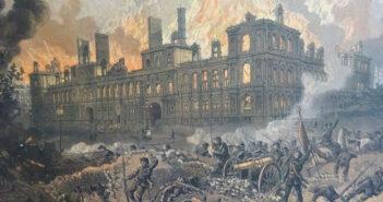©Fournel - L'incendie de l'Hôtel de ville