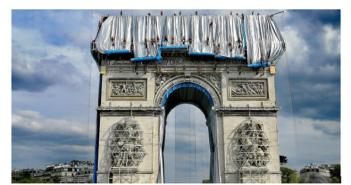 ©L'Arc de Triomphe empaqueté - Mid&Plus
