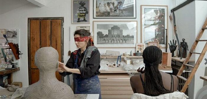 Excerpt from the short film by Vincent Lorca and Prune Nourry 2021 ADGP Courtesy Prune Nourry et Templon Paris-Brussels